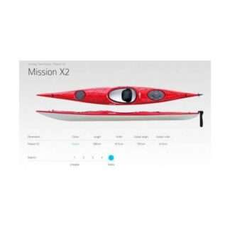 Vajda Sea Kayak Mission X2 Ultra Lite 20kg